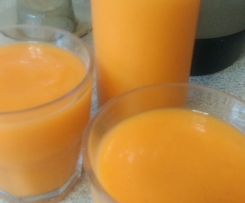 Carrot, Orange and Tumeric Juice