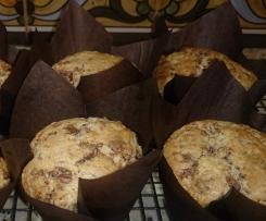 Choc Chunk & Vanilla Muffins