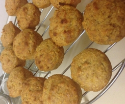 Banapple Muffins (Nut & Egg Free, Lunch box friendly)
