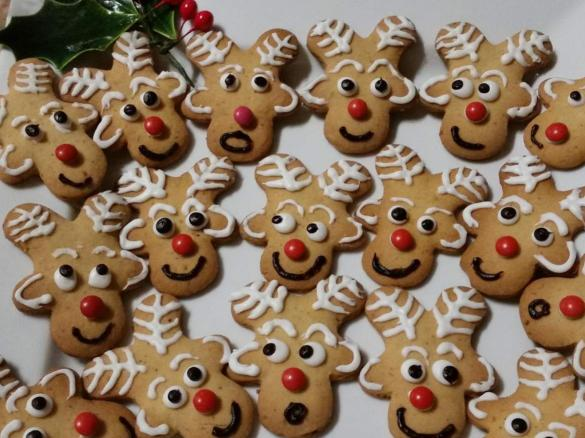 St Nick S Reindeer Biscuits
