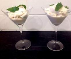 Coconut banana icecream