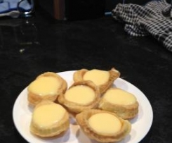 Lemon Butter in Puff Pastry Tarts