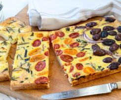 Three Colour Fritatta