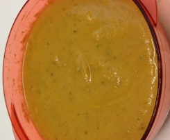 Coconut and sweet potato soup