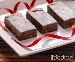 Healthy Pure Chocolate Brownie Protein Bars