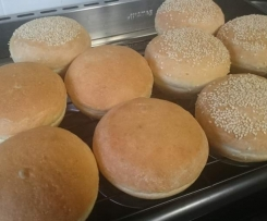White Bread Rolls - Thermomumma