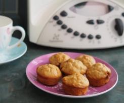 Banana & Peanut Caramel Mini Muffins