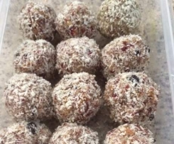 Healthy Fruit Balls