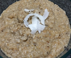Coconut Vanilla Porridge