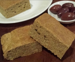 Flax Seed Focaccia (Keto Diet)