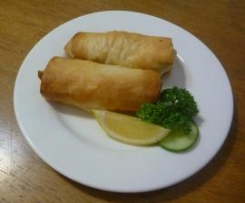 Garlic Prawns in Filo Pastry