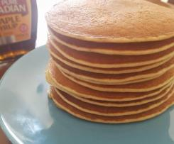 Gluten Free and Dairy Free Fluffy Banana Pancakes - No added sugar