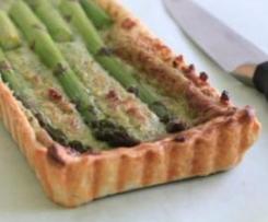 Asparagus, Ricotta and Walnut Tarts