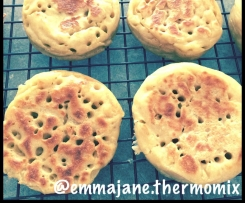Dairy free Crumpets