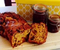 Plum Jam Bread