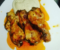 Yummy Buffalo Chicken Drumsticks