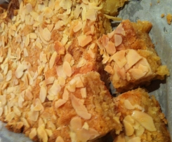 Dutch Ginger and Almond Slice