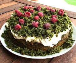 Gluten free Forest Floor Spinach Cake