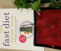 Beetroot and Apple Soup (5:2 Diet- 120 Cal per serve)