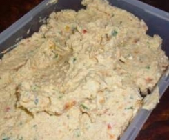 Sun-dried tomato and ricotta dip