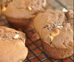 brown sugar white chocolate muffins