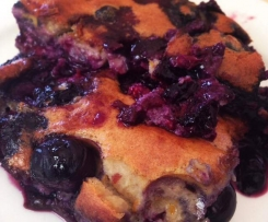 Blueberry Clafoutis (gluten free, paleo friendly)