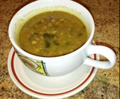 Variation Curried lentil and pumpkin soup