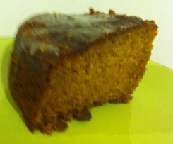 Carrot, Ginger and Sultana cake