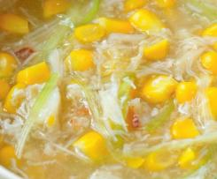 Cantonese style Sweet Corn and Crab Meat Soup