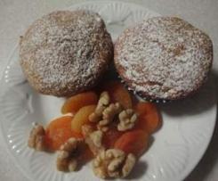 Apricot & Walnut Muffins