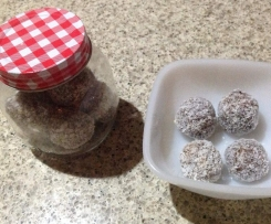 Cherry Bliss Balls