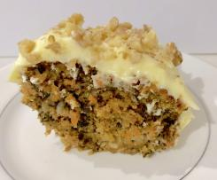 *BEST* Chunky Carrot Cake Recipe