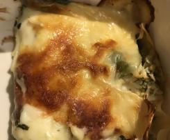 Chicken & Asparagus Lasagna