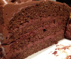 Chia Seed Chocolate Cake