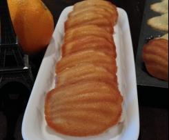 Orange Chai Madeleines