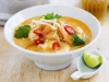 Prawn and vegetable laksa (for kids and adults)