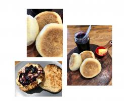 English muffins, Cheesy or plain