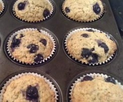 Weetbix Blueberry Muffins