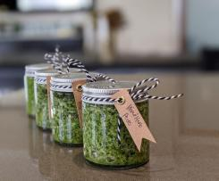 Mixed Herb Pesto (use up your herbs!)