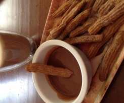 Baked Cinnamon Churros