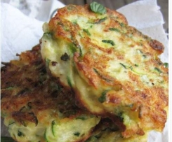 Zuccini & Ricotta Fritters with Rouille
