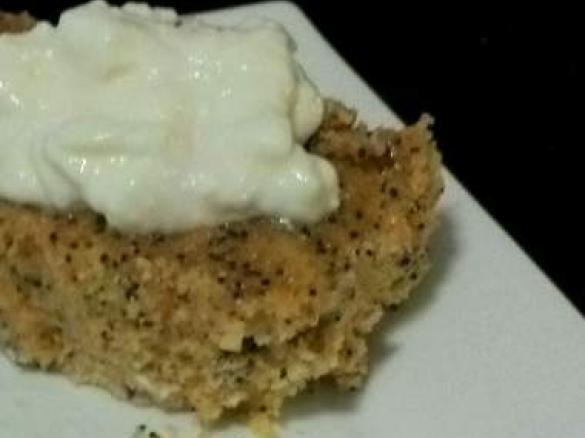 Lemon Poppy Seed Polenta Cake Using Stevia By Msc A