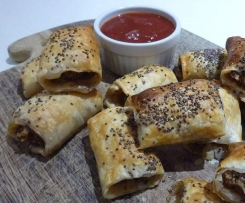 Sausage Rolls-with hidden veggies