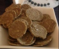 Sunny Sesame Crackers (Clone Sammy & Bella's Tostadas)