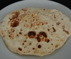 Roti, Chapati or Wrap