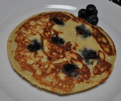 Lemon Blueberry Paleo Pancakes