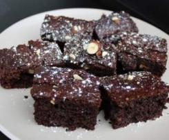 Low GI Hazelnut Brownies - Diabetic Friendly