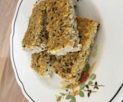 Quinoa breakfast slice