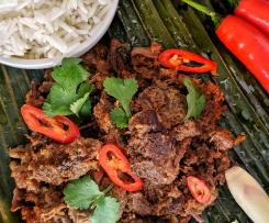 Beef Rendang (Indonesian Beef, Chilli And Coconut Dry Curry)