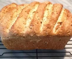Barley, pepita and sunflower bread